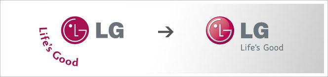 LG jde také do 3D kuličky / logo / Font
