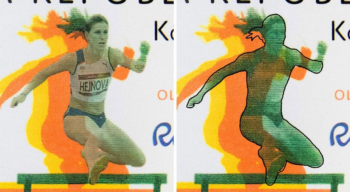 Smí se grafik při tvorbě známky inspirovat fotografií běžkyně bez jejího  souhlasu  Kde končí a začíná ta inspirace  Jak se potvrdí autorství ... cc33a5393c